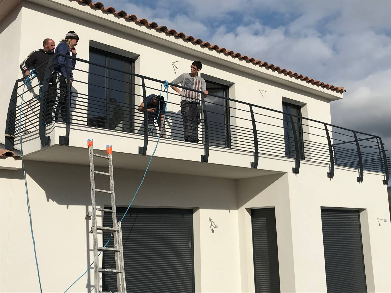 garde corps ext rieur et int rieur pour terrasses balcons. Black Bedroom Furniture Sets. Home Design Ideas